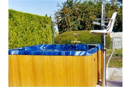 Υδραυλικά lifts -αναβατόρια για άτομα με κινητικές δυσκολίες – για Spa-Μπανιέρες
