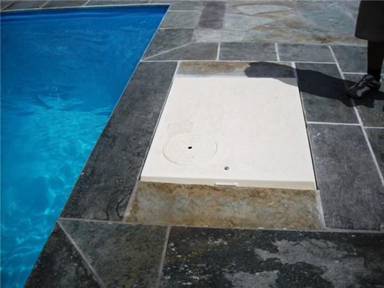 Πισίνα μπετόν Compact φυσιγγίων στο Πόρτο Λάφια - Έργο 2 4