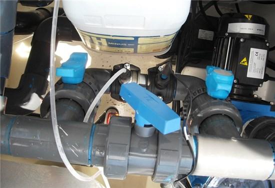 Πισίνα μπετόν Compact φυσιγγίων στο Πόρτο Λάφια - Έργο 2 10