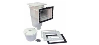 6) Εντοιχισμένα PVC & Ανοξείδωτα 316L, SKIMMER LINER