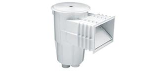 6) Εντοιχισμένα PVC & Ανοξείδωτα 316L, SKIMMER ΜΠΕΤΌΝ