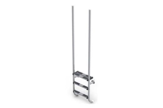8) Σκάλες Κουπαστές - Ανοξείδωτες 316-316L, ΣΚΆΛΑ ΠΙΣΊΝΑΣ – ΜΟΝΤΈΛΟ ELEGANCE