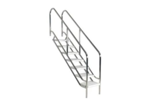 8) Σκάλες Κουπαστές - Ανοξείδωτες 316-316L, ΣΚΆΛΑ ΠΙΣΊΝΑΣ – ΜΟΝΤΈΛΟ HANDY