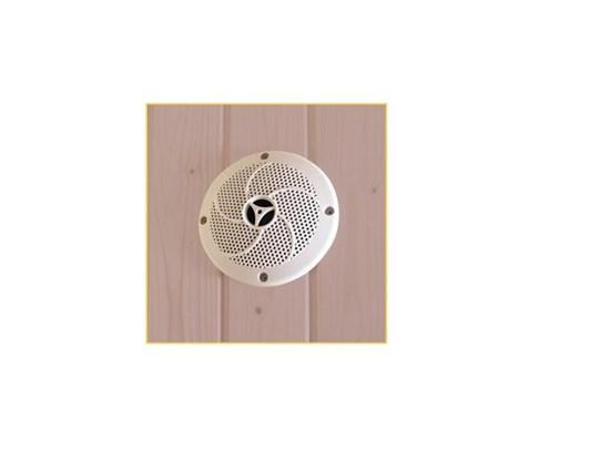Ηχείο για σάουνα – Λευκό χρώμα 1