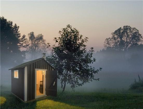 Mini Sauna Λετονίας εξωτερικού χώρου 3
