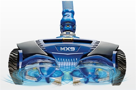 Σκούπα ρομπότ καθαρισμού πισίνας – Μοντέλο Zodiac MX9