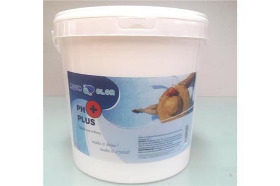 Χημικά Πισίνας, ΣΚΌΝΗ PH PLUS (+)