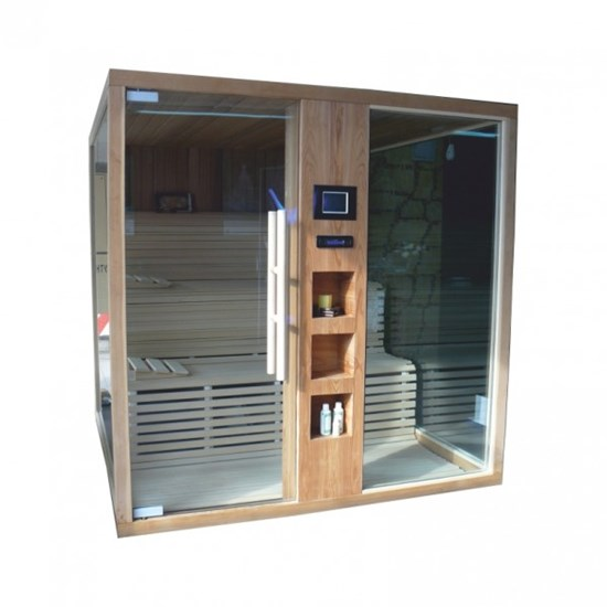 Spa Zone, Sauna Glass