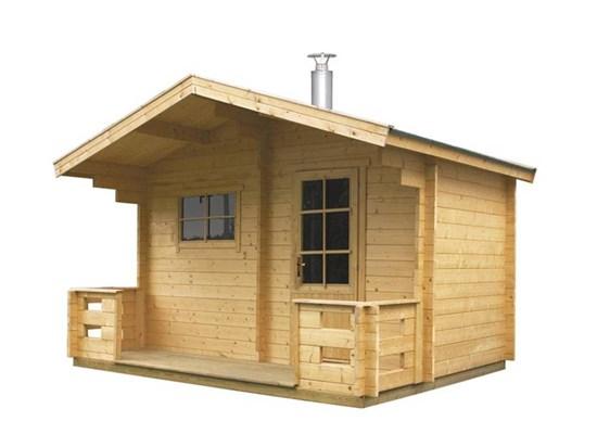 Harvia Outdoor sauna Kuikka - Keitele