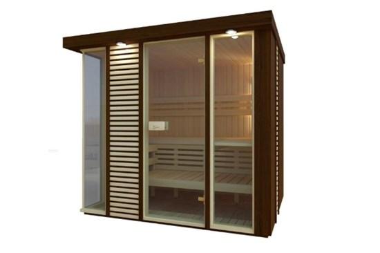 4) Sauna, ΣΑΟΥΝΕΣ SAUNAX