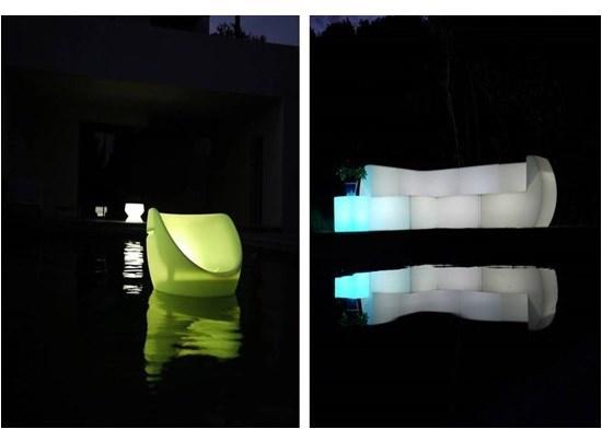 1) Ξαπλώστρες πισίνας - Έπιπλα Εξωτερικού Χώρου, ΦΩΤΙΖΟΜΕΝΑ ΕΠΙΠΛΑ ΕΞΩΤΕΡΙΚΟΥ ΧΩΡΟΥ BOON'S - PROLITE