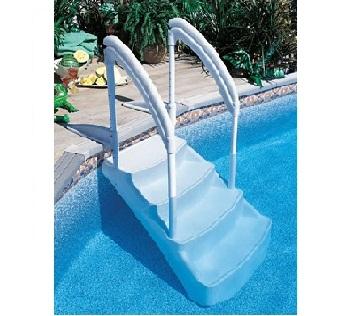 9) PVC Σκαλοπάτια πισίνας, ΣΚΑΛΟΠΑΤΙΑ LUMIO INNOVAPLAS ΜΟΝΤΕΛΟ THE ROYAL ENTRANCE