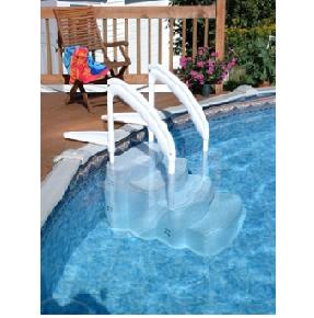 9) PVC Σκαλοπάτια πισίνας, ΣΚΑΛΟΠΑΤΙΑ LUMIO INNOVAPLAS ΜΟΝΤΕΛΟ THE FESTIVA