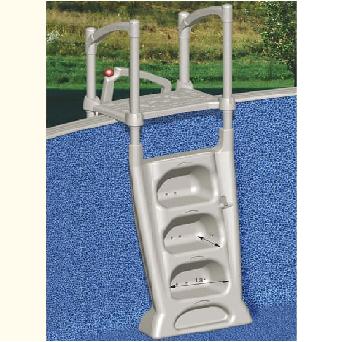 9) PVC Σκαλοπάτια πισίνας, ΣΚΑΛΟΠΑΤΙΑ LUMIO INNOVAPLAS ΜΟΝΤΕΛΟ Η2Ο