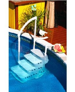 9) PVC Σκαλοπάτια πισίνας, ΣΚΑΛΟΠΑΤΙΑ LUMIO INNOVAPLAS ΜΟΝΤΕΛΟ BILTMOR