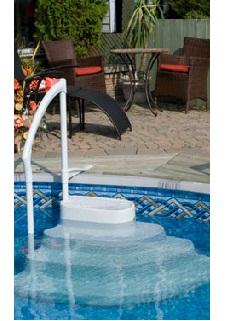 9) PVC Σκαλοπάτια πισίνας, ΣΚΑΛΟΠΑΤΙΑ LUMIO INNOVAPLAS ΜΟΝΤΕΛΟ MAJESTIC