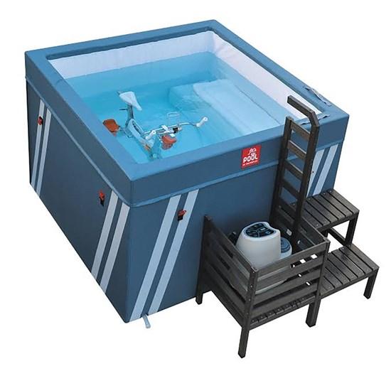 Μικροπισίνα Υδρομασάζ - Fit's Pool