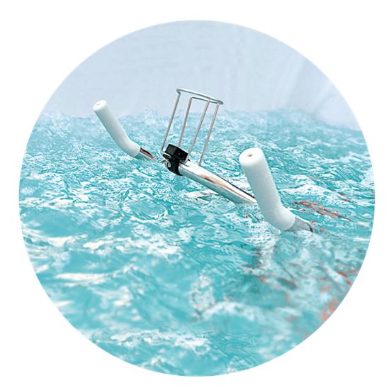 Μικροπισίνα Υδρομασάζ - Fit's Pool 4