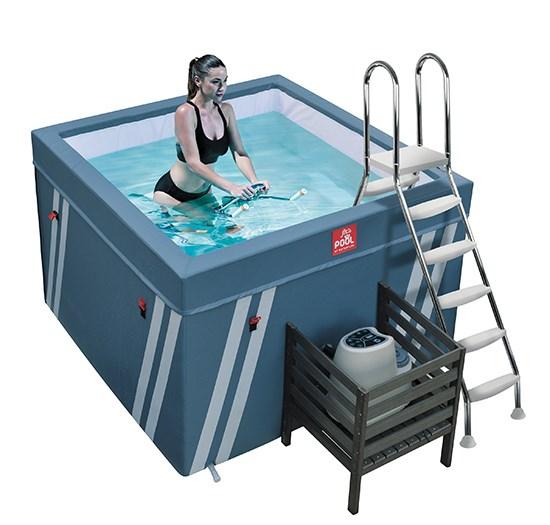 Μικροπισίνα Υδρομασάζ - Fit's Pool 2