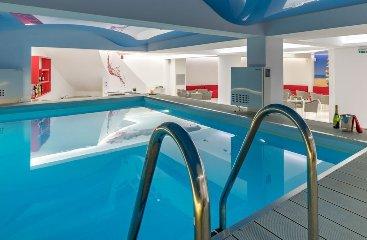 Εργα μας σε ξενοδοχεία, SPA - ΣΑΟΥΝΑ - ΕΣΩΤEΡΙΚΗ ΠΙΣΙΝΑ ΣΤΟ MEANDROS HOTEL