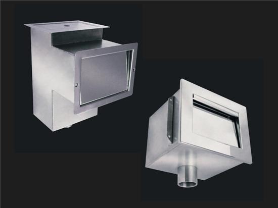 6) Εντοιχισμένα PVC & Ανοξείδωτα 316L, Ανοξείδωτα Skimmer 316L- Ισπανίας