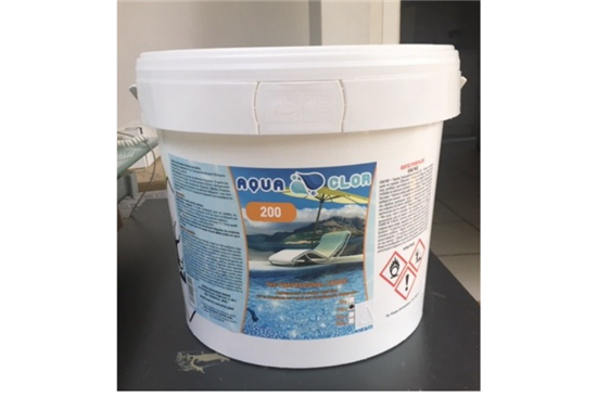 Χημικά Πισίνας, Χλώριο Ταμπλέτες 200gr - Aqua Clor