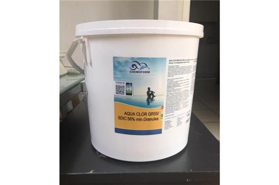 Χημικά Πισίνας, Χλώριο Κόκκους 55gr - Aqua Clor