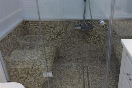 Χαμαμ, Μετατροπή μπάνιου σε χαμάμ