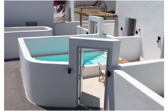 Πισίνες Πολυεστερικές, Πισίνα Azul - Ειδικά σχέδια Πισίνας και Τζακούζι για ξενοδοχεία