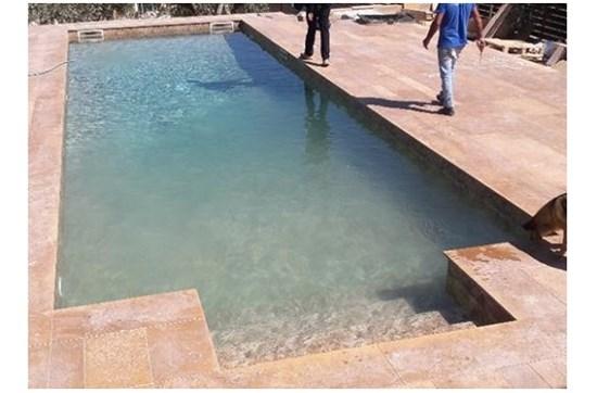 Πισίνα προκάτ με σκίμμερ στο Πικέρμι - Έργο 33