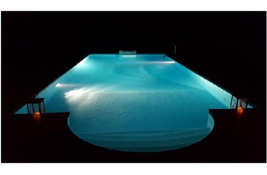 Πισίνα προκάτ με compact φίλτρο στην Υπάτη - Έργο 34