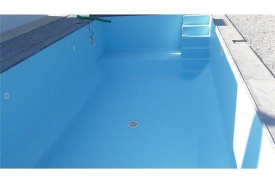 Πισίνα Προκάτ με Liner στη Σύρο - Έργο 1
