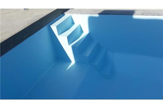 Πισίνα Προκάτ με Liner στη Σύρο - Έργο 1 1