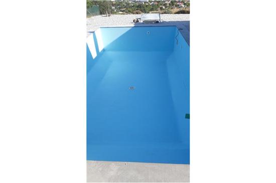 Πισίνα Προκάτ με Liner στη Σύρο - Έργο 1 2