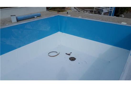 Πισίνα Προκάτ με Liner - Έργο 6 1