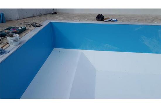 Πισίνα Προκάτ με Liner - Έργο 6 2