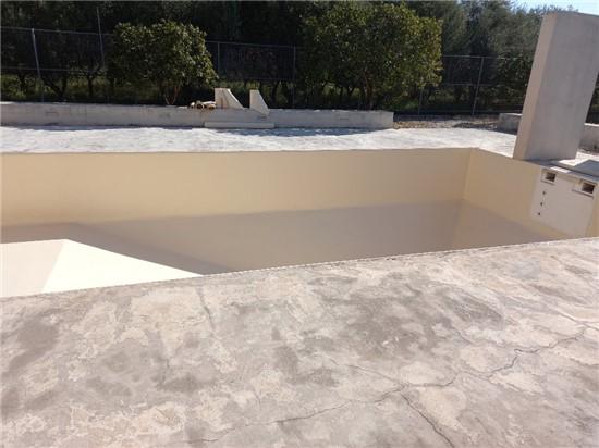 Πισίνα Προκάτ με Liner και Σκίμμερ στο Κοκκώνι Κορινθίας - Έργο 11 4