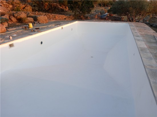 Πισίνα Προκάτ με Liner και Σκίμμερ στην Αίγινα - Έργο 12 1