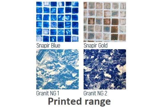 Μεμβράνη Liner Γερμανίας - Ισπανίας, Haogenplast - Printed range Next generation