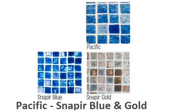 Pacific- Snapir Blue & Gold