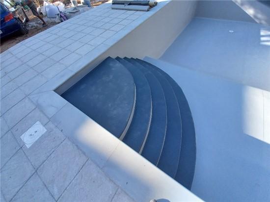 Πισίνα Προκάτ με Liner, Σκίμμερ και Νεροκουρτίνα στην Εκάλη - Έργο 16 5