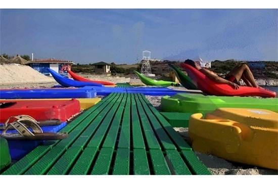 1) Ξαπλώστρες πισίνας - Έπιπλα Εξωτερικού Χώρου, Beach Walking Way - Nart Access
